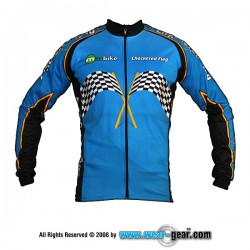 Checkered Flag long sleeve jersey