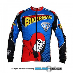 Bikerman long sleeve jersey