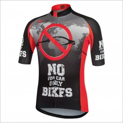 NO FOR CARS  short sleeve jersey