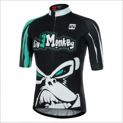 LIVE MONKEY short sleeve jersey
