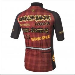 ASRENALINE JUNKIES RED short sleeve jersey