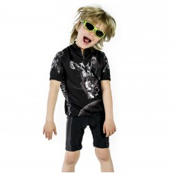 F*** THE GRAVITY BLACK Enfants maillot