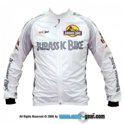 Jurassic Bike White Gamex jacket