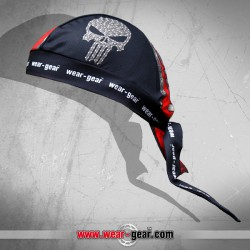 Bike Punisher Red Bandana
