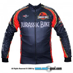 Jurassic Bike Black long sleeve jersey
