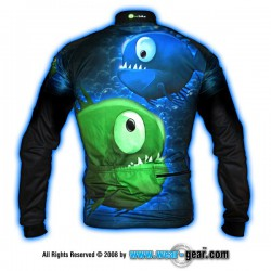 Piranhas! long sleeve jersey