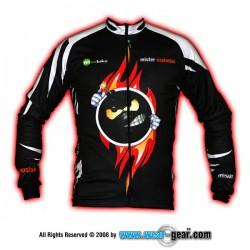 Mr Explosion Black long sleeve jersey