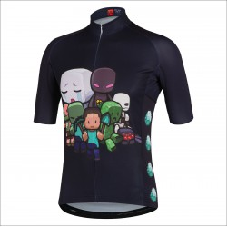 BIKE WORLD Maillot manches courtes