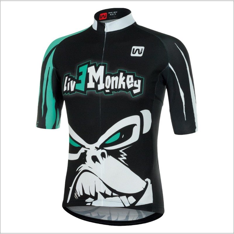LIVE MONKEY Maillot manches courtes