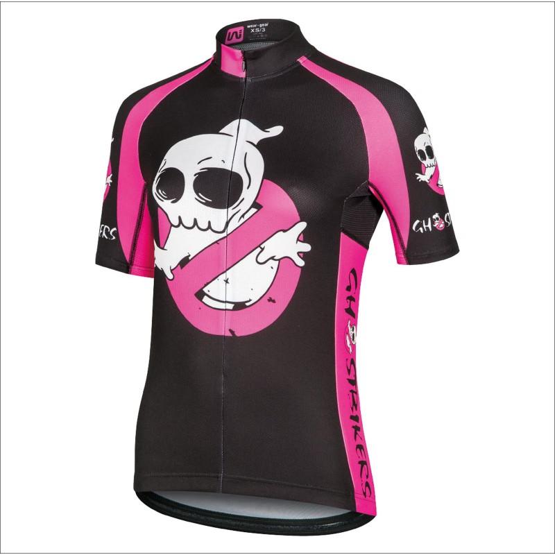 GHOSTBIKERS PINK short sleeve jersey