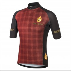 ASRENALINE JUNKIES RED short sleeve jersey