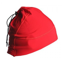 Hat and Tube Scarf Red