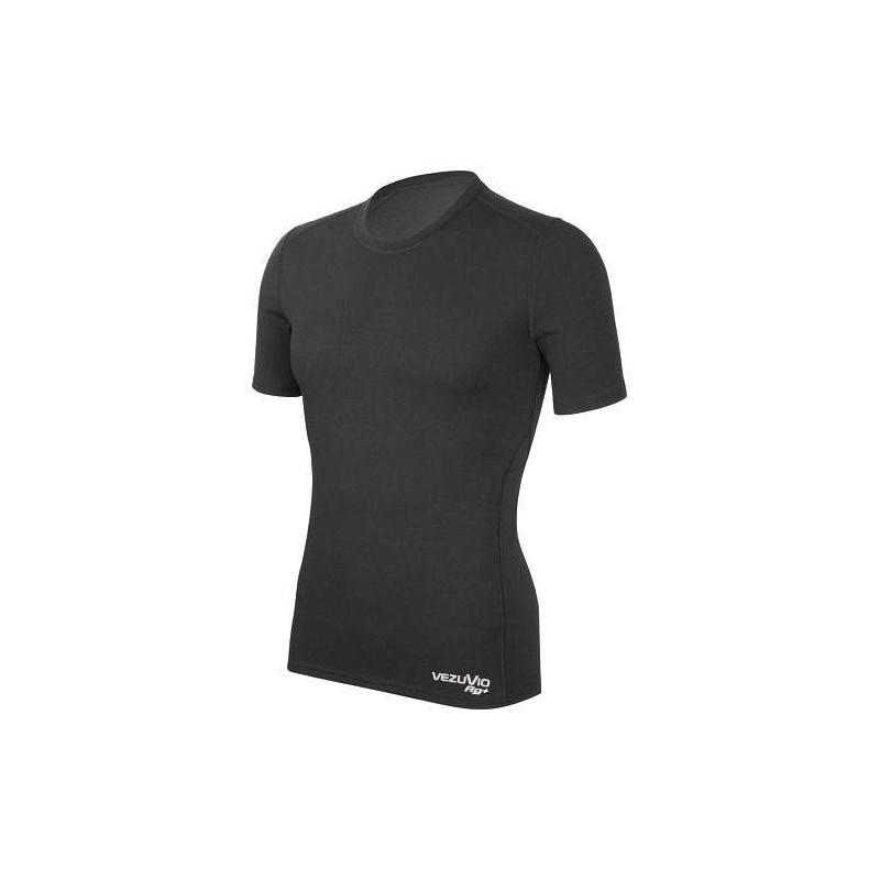Men's boxers Q-Skin medium black with insert Carbon Record