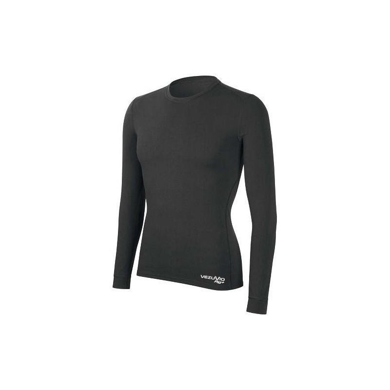 Men's Long-sleeved shirt shirt Q-Skin medium gray