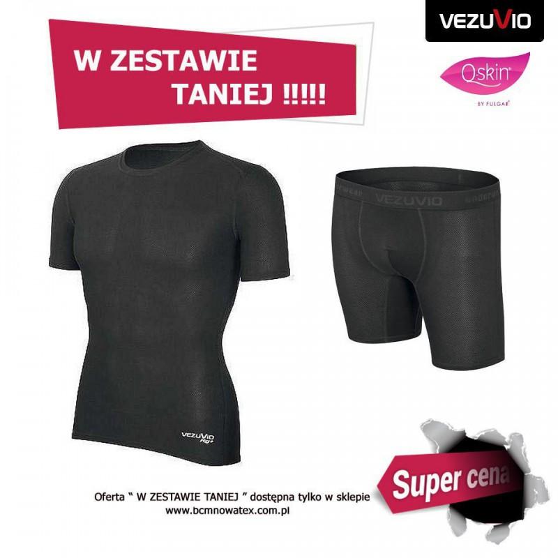 Zestaw męski WHT potówka koszulka + bokserki