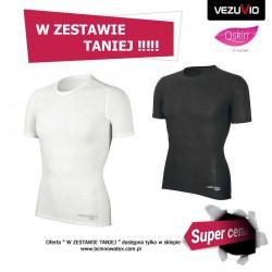 Zestaw męski BLK potówka koszulka + bokserki