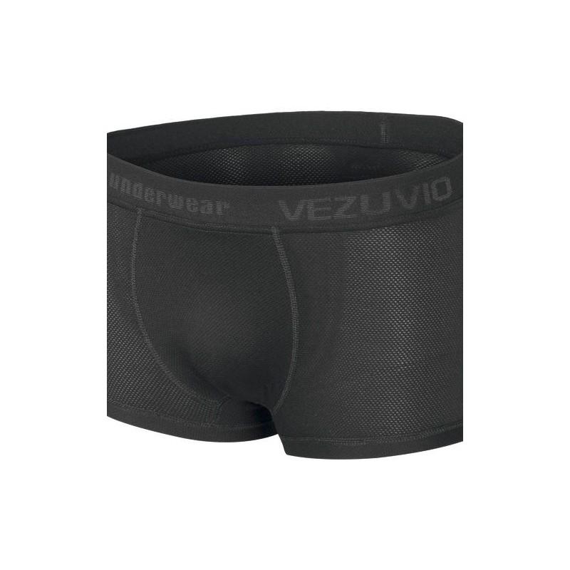 Men's Boxer Shorts Q-Skin black - short leg
