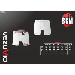 Men's Boxer Shorts Q-Skin black - short leg