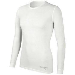 Koszulka męska długi rękaw Q-Skin potówka biała
