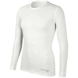 Men's long sleeve shirt Q-Skin white