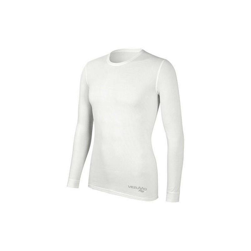 Men's long sleeve shirt Q-Skin white