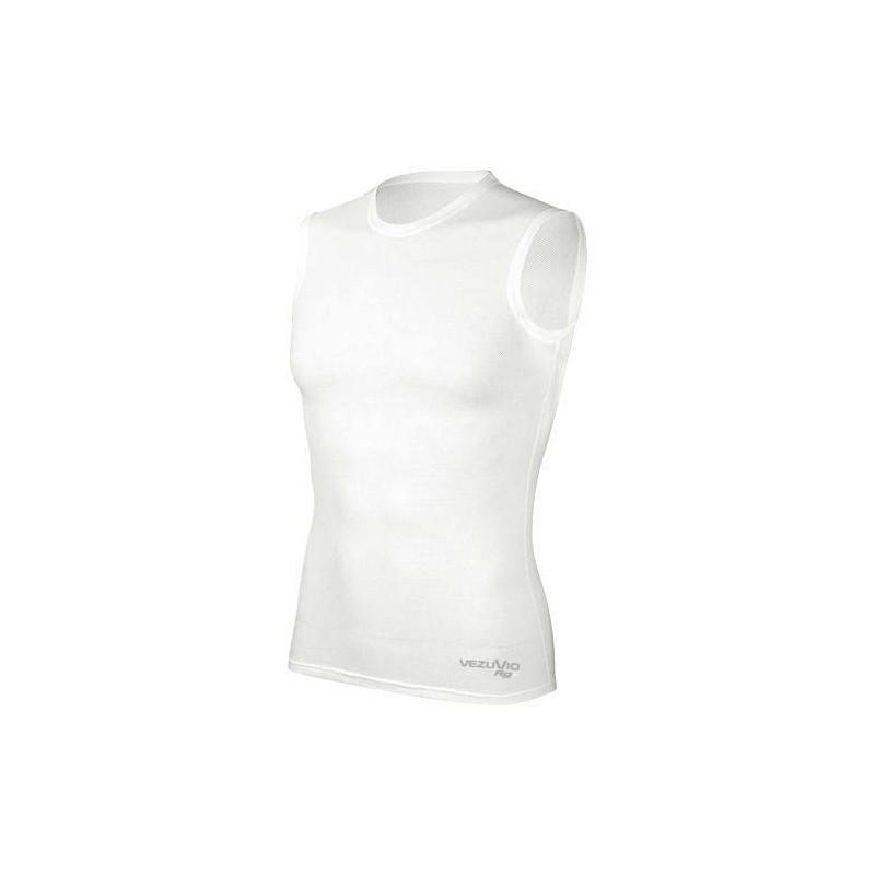 Men's Sleeveless shirt Q-Skin white
