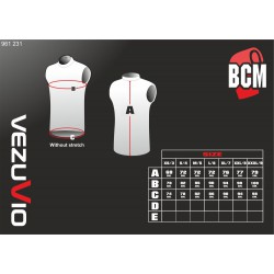 Men's Sleeveless shirt Q-Skin white