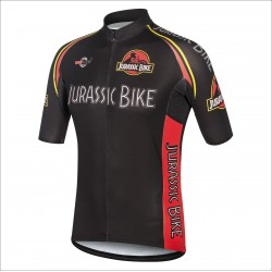 JURASSIC BIKE BLACK short sleeve jersey