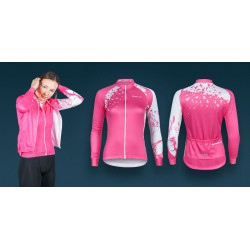 Bluza rowerowa damska Vezuvio Z8 Pink