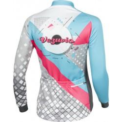 Bluza rowerowa damska Vezuvio Z8 Blue