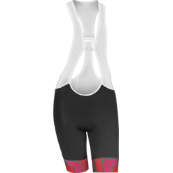 Women's bib shorts Vezuvio Atmosa White
