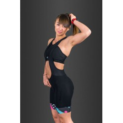Vezuvio Women VR5  cycling shorts with braces