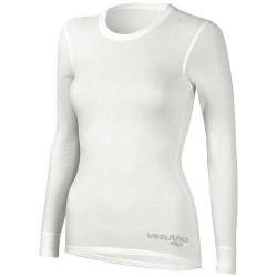 Koszylka damska długi rękaw Q-Skin potówka biała
