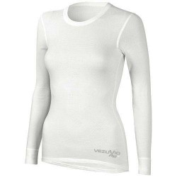Women's long sleeve shirt Q-Skin white
