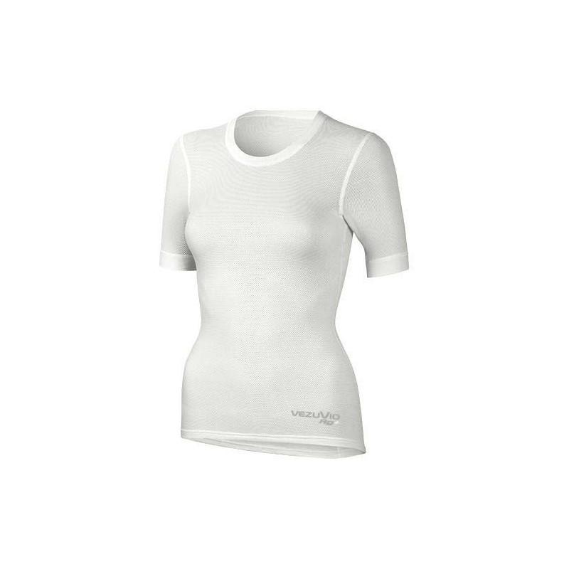Women's short-sleeved shirt Q-Skin white