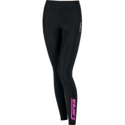 Damskie spodnie biegowe Aenergia Corsa Fluo