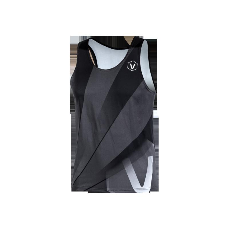Women's sports shirt Corsa Black