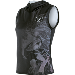 Sleeveless t-shirt for versatile sports use Flower Lady