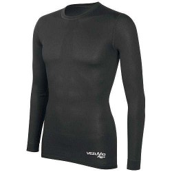 Kids long sleeve shirt black Q-Skin