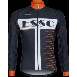 Long-sleeved jersey Vezuvio Esso Orange