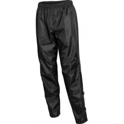 Rainproof nylon trousers black