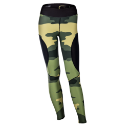 Women's long leggings Gym Camo