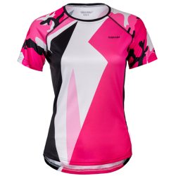 Women's sports shirt Glam Pink