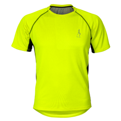 Men's sports T-shirt Run Fluo